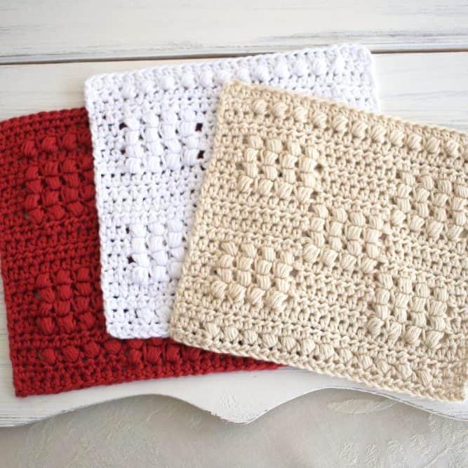 Cottage Magic Dishcloth Pattern Set
