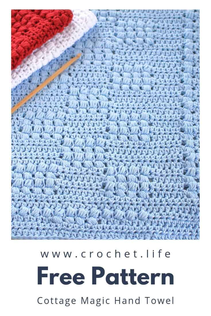 Free Pattern Crochet Kitchen Towel