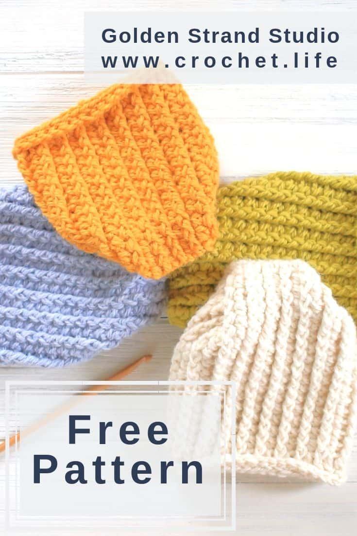 Free Crochet Newborn Pattern