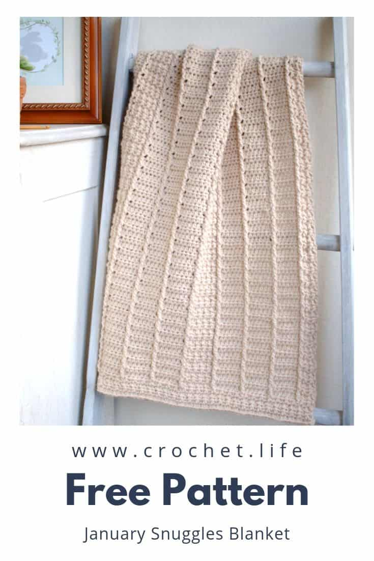 Easy Crochet Blanket with Fun Simple Stitches